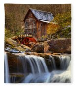 Glade Creek Cascades Fleece Blanket