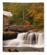 Glade Creek Grist Mill 10 Fleece Blanket
