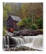 Glade Creek Waterfall Fleece Blanket