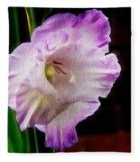 Gladiolus - Summer Beauty Fleece Blanket