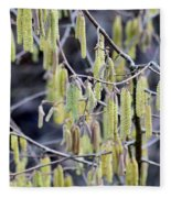 Glance In The Woods Fleece Blanket