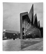 Glasgow Riverside Transport Museum Fleece Blanket