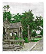 Glasnevin Cemetery 2 Fleece Blanket