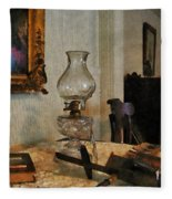 Glass Lamp And Stereopticon Fleece Blanket