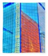 Glass Reflections Fleece Blanket