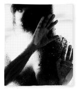 Glass Shadows Fleece Blanket