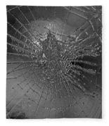 Glass Spider Fleece Blanket