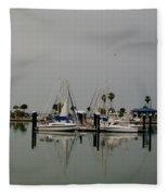 Glassy Water Fleece Blanket