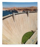 Glen Canyon Dam Fleece Blanket