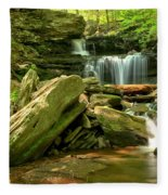 Glen Leigh Cascades Fleece Blanket