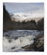 Glen Orchy Scotland Fleece Blanket
