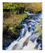 Glenbrittle Waterfall Fleece Blanket