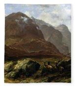 Glencoe, 1864 Fleece Blanket