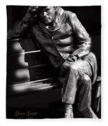 Glenn Gould Fleece Blanket