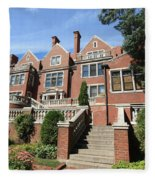 Glensheen Mansion Exterior Fleece Blanket