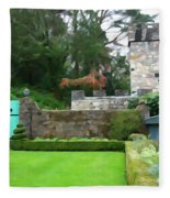 Glenveagh Garden Gate Fleece Blanket