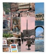 Glimpses Of Italy Fleece Blanket