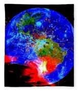 Global Warming  Fleece Blanket