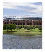 Globe Life Park Fleece Blanket