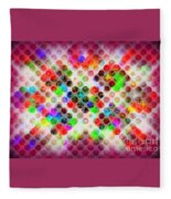Planetary Systems - Globes 2 Fleece Blanket