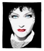 Gloria Swanson - Edith Piaf Fleece Blanket
