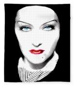 Gloria Swanson Fleece Blanket