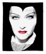 Gloria Swanson Malefica Fleece Blanket