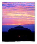 Glorious Boston Sunrise Fleece Blanket