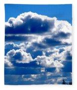 Glorious Clouds II Fleece Blanket