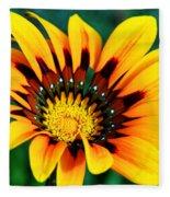 Glorious Day Yellow Flower By Diana Sainz Fleece Blanket