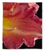 Glorious Lily Fleece Blanket