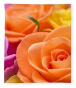 Glorious Roses Fleece Blanket