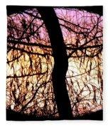 Glorious Silhouettes 3 Fleece Blanket