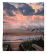 Glory Of Dawn Fleece Blanket