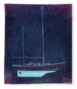 Glory Rose Fleece Blanket