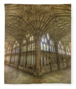 Gloucester Cathedral Cloisters Fleece Blanket
