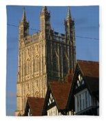 Gloucester Cathedral Spire Fleece Blanket