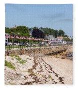 Gloucester In July Fleece Blanket