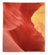 Glow Under The Desert Floor Fleece Blanket