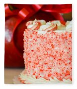 Gluten Free Peppermint Cake Fleece Blanket