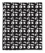 Glyphs 15 Phone Case Fleece Blanket