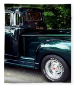 Gmc Classic Truck Fleece Blanket