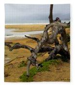 Gnarly Tree Fleece Blanket