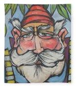Gnome 1 Fleece Blanket