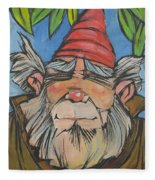 Gnome 2 Fleece Blanket