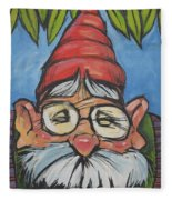 Gnome 6 Fleece Blanket
