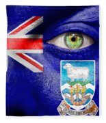 Go Falkland Islands Fleece Blanket