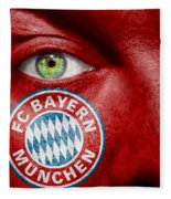 Go Fc Bayern Munchen Fleece Blanket