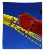 Go Fly A Kite 6 Fleece Blanket