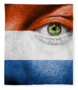 Go Holland Fleece Blanket